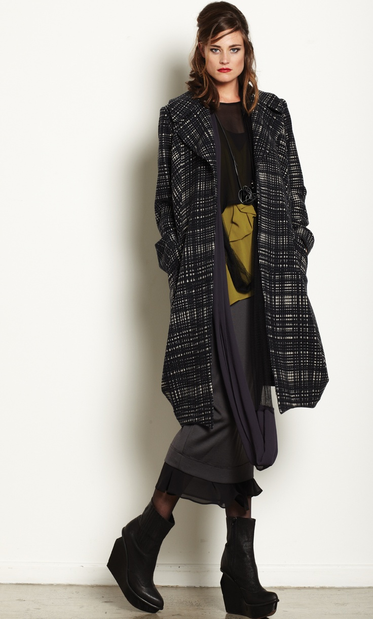 Discover new clothes at Nicola Waite. This amazing plaid coat has been a best seller since day one.