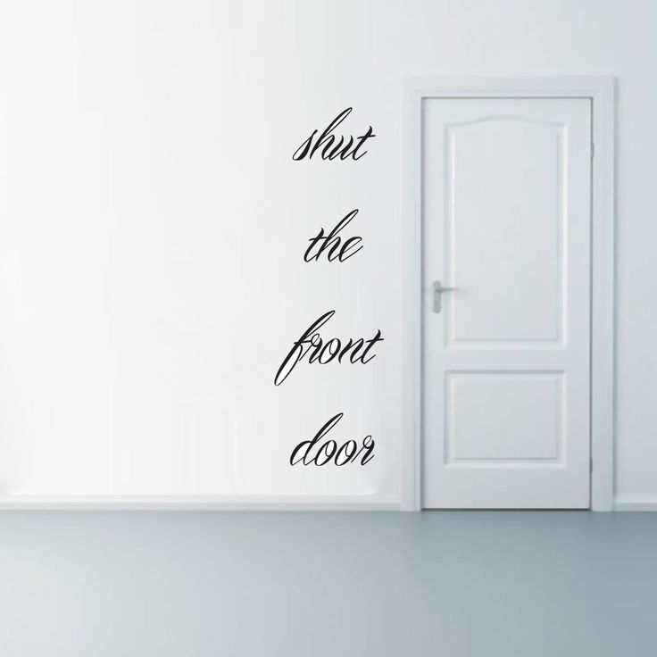 Best Wall QuotesPostersGraphics Images On Pinterest - Wall decals entryway