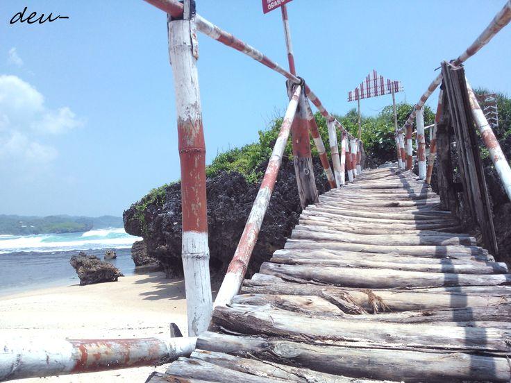 Krakal beach, Gunung Kidul, D.I.Yogyakarta, IND