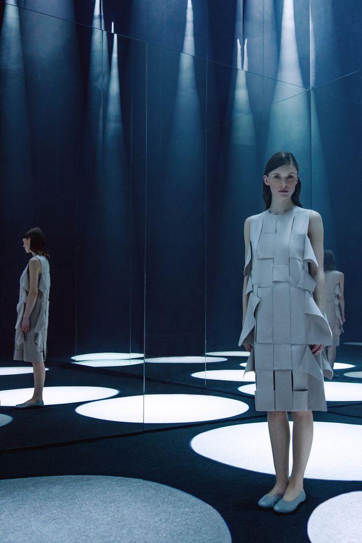 COS x sou fujimoto creates immersive forest of light during milan design week