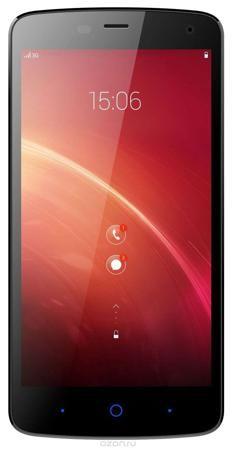 ZTE Blade L370, Black  — 5490 руб. —  ZTE Blade L370 - стильный и недорогой смартфон, в котором используется процессор MediaTek MT6582 с тактовой частотой 1,3 ГГц, дополненный 1 ГБ оперативной памяти. Объем встроенного накопителя составляет 8 ГБ, кроме того, есть слот для карт microSD емкостью до 32 ГБ. В смартфоне установлен 5-дюймовый экран с разрешением 854x480 точек, 5-мегапиксельная фронтальная камера и 8-мегапиксельная основная. Поддерживается стандарт связи 3G, а также имеется…