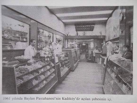 Baylan Pastahanesi, Kadıköy (1961) #istanlook #nostalji #birzamanlar