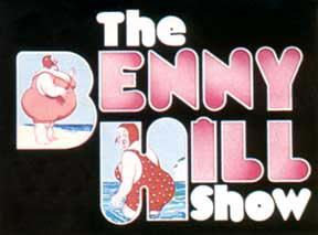The Benny Hill Show -- this always seemed to be on and we only had 5 channels!
