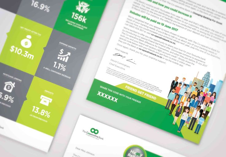 Co-operative Bank Infographic Letter - by Monsoon Creative