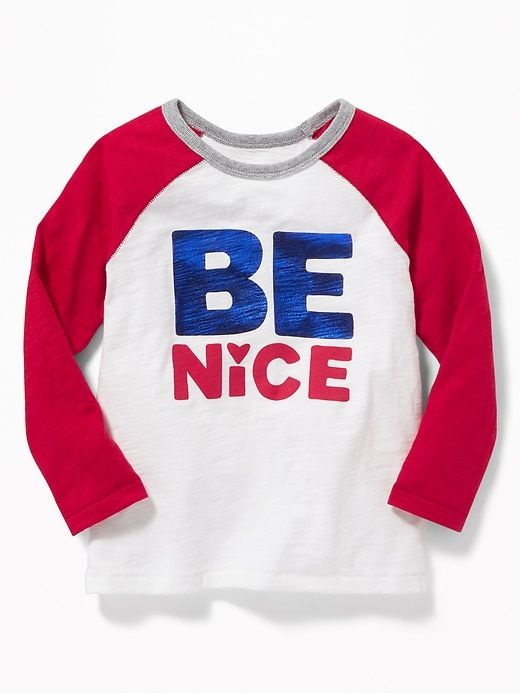 e31aa3af447 Valentine-Graphic Raglan Tee for Toddler Boys