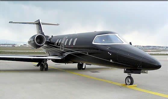 Aviones privados Lear 40 para el alquiler de jet de negocios