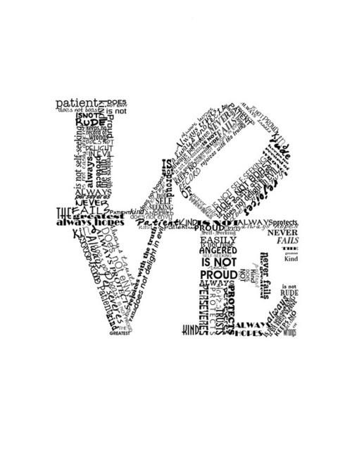 -1 Corinthians 13:4-7: Ideas, Fails Red, Art Prints, Valentines Day, Love Never Fails, Valentine Gift, Valentine Day Gifts, Red Art