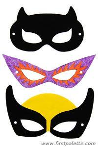 Superhero Mask craft