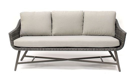 Lamode 3 seater lounge sofa from KETTLER's Wicker Garden Furniture range on a white background