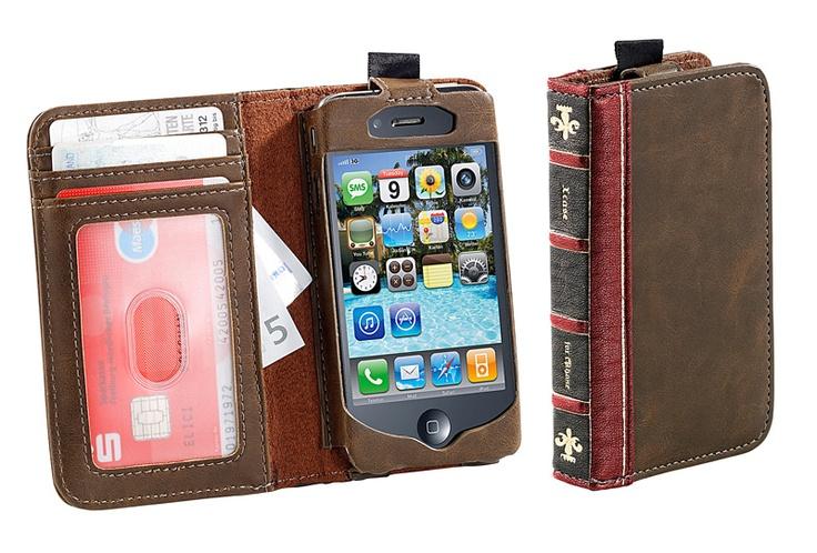 Xcase edle schutzh lle f r iphone 4 4s im buch design for Buch design