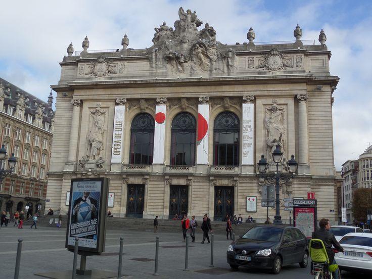 Opéra de Lille designed by Louis Marie Cordonnier.
