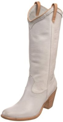 Frye boots love in white..