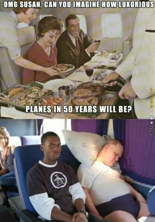 Planes in 50 years   Laughtard