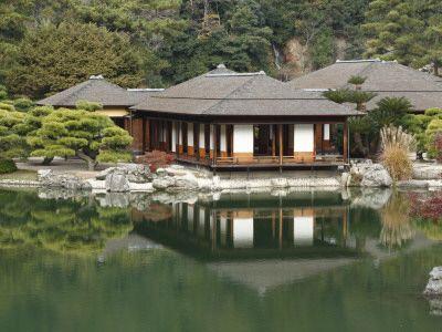 Traditional Japanese Tea House Design