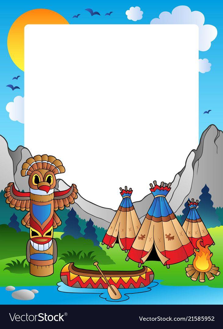 сказать открытка приглашение с индейцами стойкой ресепшена