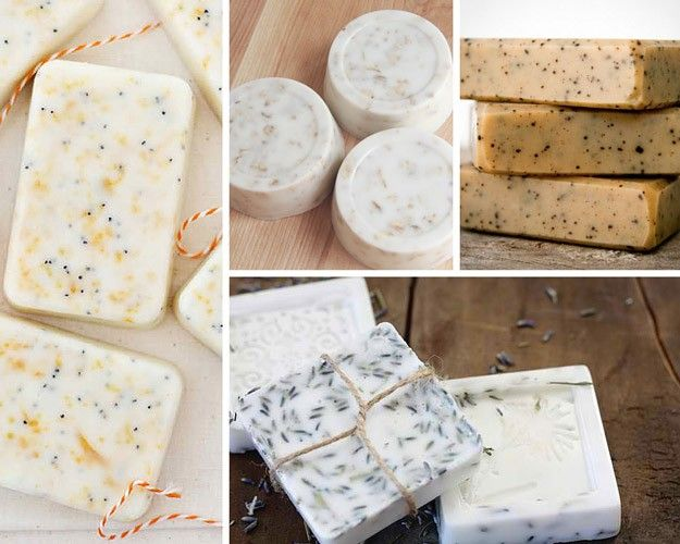 Soft and soothing goat milk soap | 20 Recipes To Make With Goats Milk