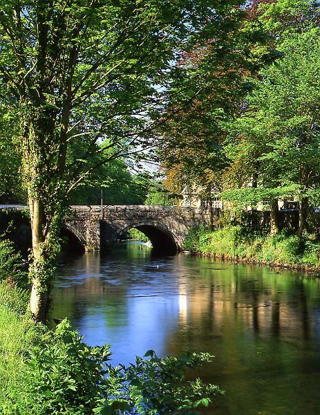 River Tavy, Tavistock, Devon, England - loved this place. We were at a campingsite near river Tavy - Harford Bridge.