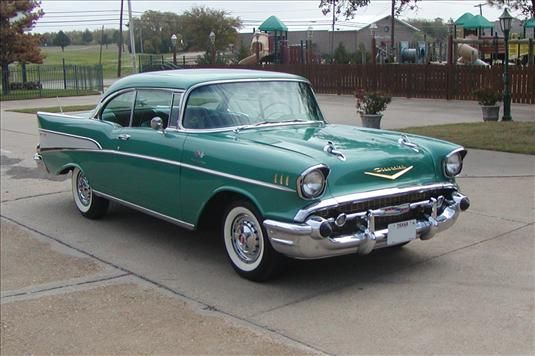 1957 Bel Air. I want an old car on my wedding day instead of a limo