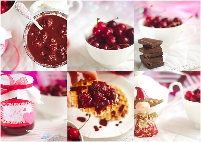Шоколадно-вишневое варенье - It's al dente. Блог о еде и около того.