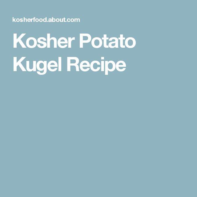 rosh hashanah kugel recipe