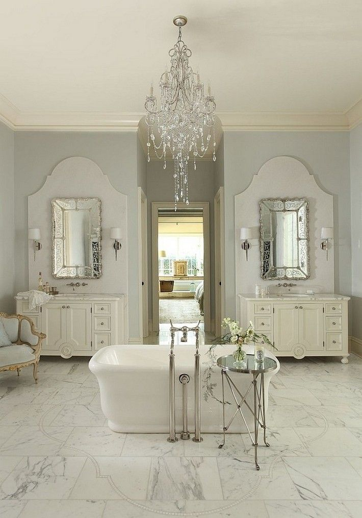Best Bathroom Design Images On Pinterest - Mini chandelier for bathroom for bathroom decor ideas