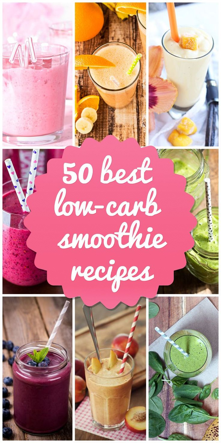 I may never make any of these low-carb smoothie recipes BUT if I want to I'll have it here ;)