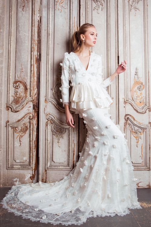The Delphyne Dress from The Nina Rose Bridal 2016 Campaign. Nina Rose is a London based luxury silk wedding dress designer. Shot by Amelia Allen photography.