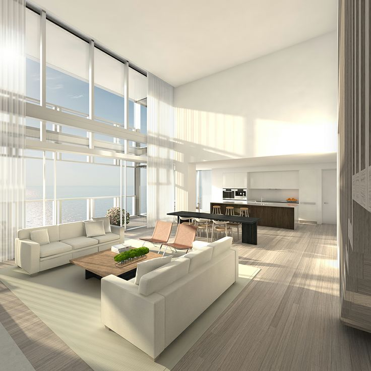 The Residences At The Miami Beach EDITION: Living Room
