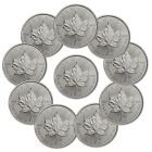 ♣♯ PRESALE! 2017 Canada $5 1 oz. #Silver Maple Leaf Lot of 10 #Coins SKU44168 http://ebay.to/2frIxQ2