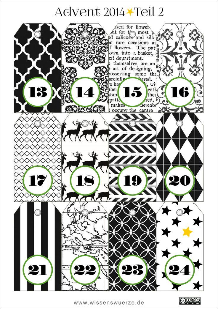 265 best calendrier de l 39 avent faire soi m me images on. Black Bedroom Furniture Sets. Home Design Ideas