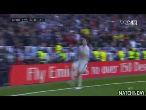 Alvaro Morata Amazing Goal Real Madrid vs CD Leganes 3 0 La Liga 06 11 2016