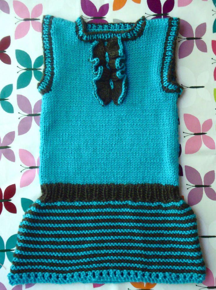 Knitting Patterns For Baby Tunics : Knitting Patterns Galore - Tuxita Girls Tunic Knit?Girls?Dresses Pinteres...