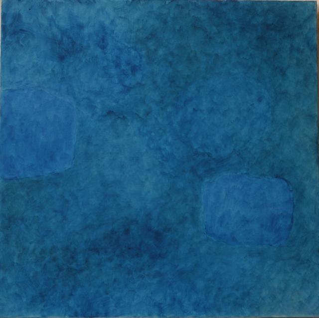 Françoise Sullivan, Ocean Nu. 4, 2005, acrylic on canvas, 48x48  © Courtesy Corkin Gallery