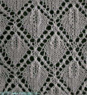 Vine Leaf Knitting Pattern : 17 Best images about Leaf/Ivy/Vine Knit Stitch Patterns on ...