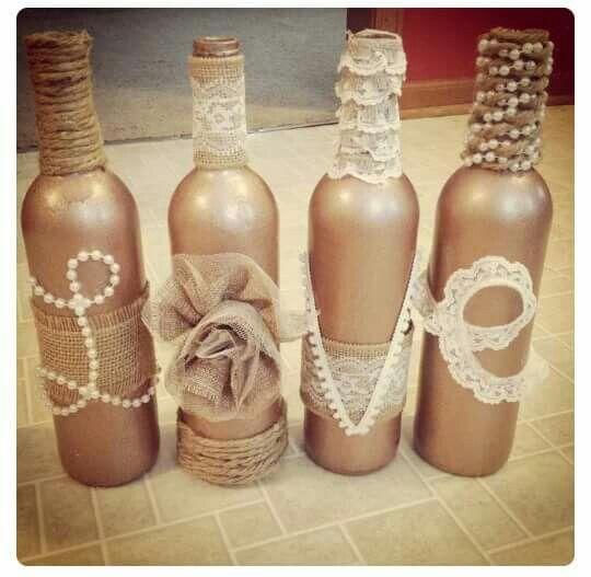 34 best images about garrafas on Pinterest