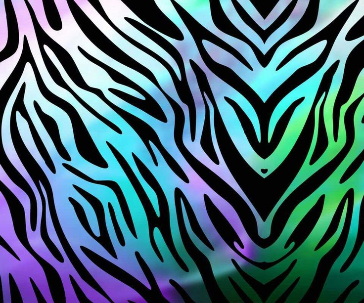 Pinterest: Discover and save creative ideas Multi Colored Zebra Print Wallpapers