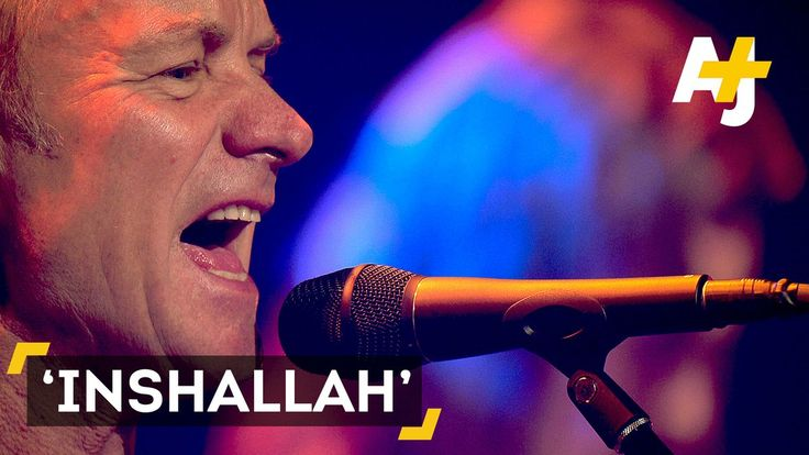 """AJ+ on Twitter: """"One year ago, 90 people were killed in the Bataclan. Sting reopened the concert hall with a song for refugees called """"Inshallah"""". https://t.co/VpBr3K6bbs"""""""