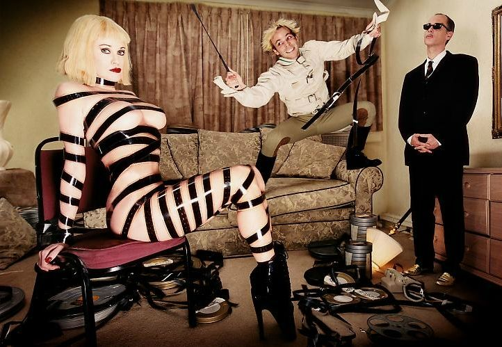 Melanie Griffith, Stephen Dorff and John Waters by David LaChapelle, Cecil B. Demented, 2000