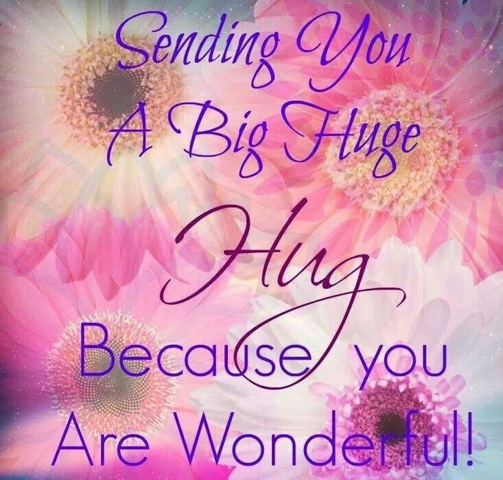 Sending you hugs and kisses quotes