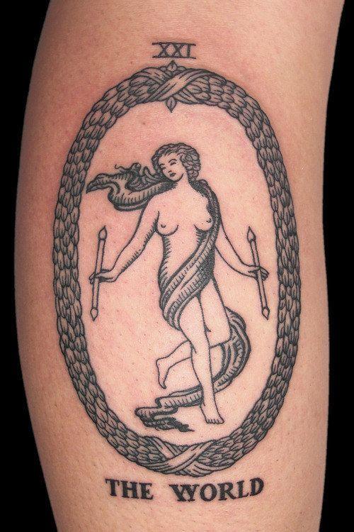 19 tatuagens de tarô poderosas
