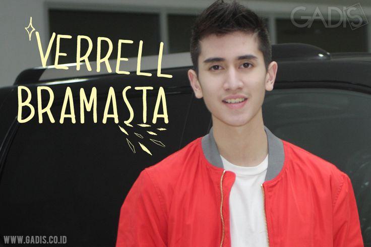 Hot boy in town: Verrell Bramasta ;)