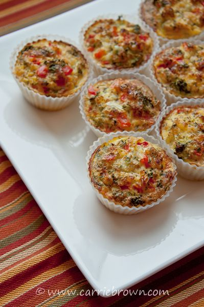 Broccoli red pepper quiche cups | Jonathan Bailor | SANEsolution | SANE recipe | low-carb | paleo