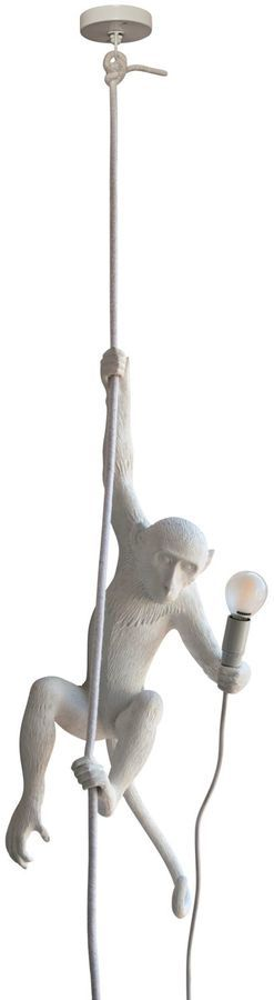 Monkey On A Cord Ceiling Lamp