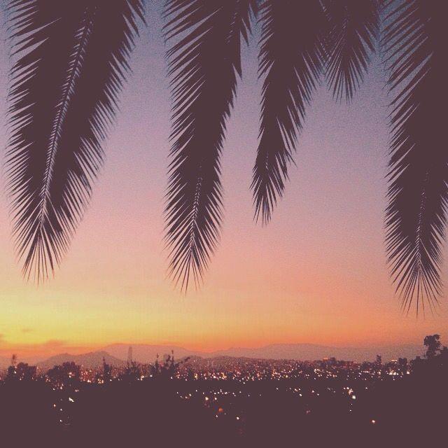 Summer Sunset Santiago