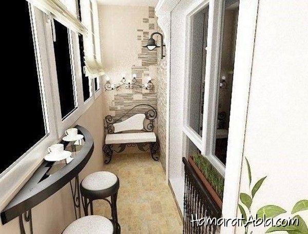 Küçük Balkonlar için Dekorasyon Fikirleri