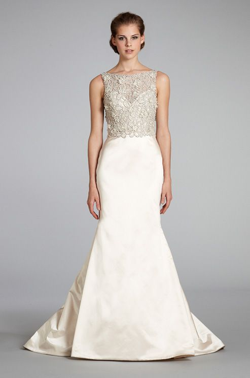 Lazaro trumpet wedding dress, Fall 2012
