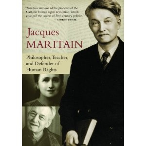 Jacques Maritain was a French Catholic philosopher. An author of 60+ books, he is a prominent drafter of the Universal Declaration of Human Rights and he helped to revive St. Thomas Aquinas for modern times. Jacques was deeply engaged in denouncing anti-Semitism, fascism, and Nazism. He taught at Columbia and Princeton from 1941-1944 and his works spanned many aspects of philosophy, including political theory, metaphysics, and ecclesiology. (DVD)