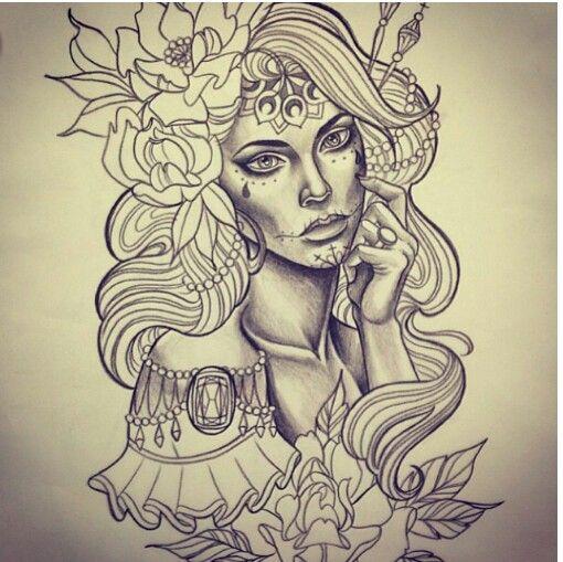 107 Best Images About Neo Traditional Drawings On Pinterest Tattoo Drawings Emily Rose And