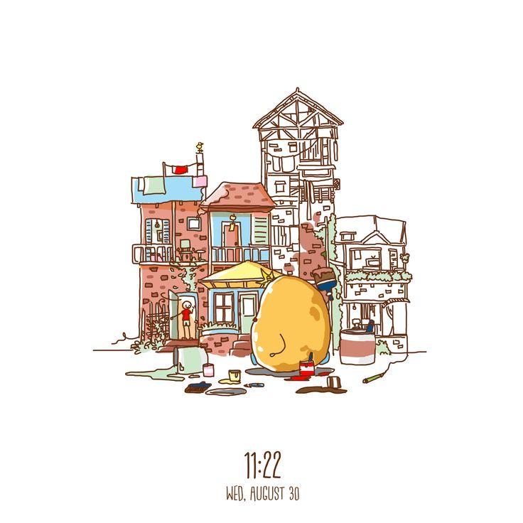 Little Stickman House #art #artwork #dailyart #house #stickman #paint #potato #color #brush #paint #fun #doodle #enjoy #happy #sketchbook #sketch #design #illustration #digitalart #digitaldrawing #drawing #draw #paint #graphicdesign #potatobart