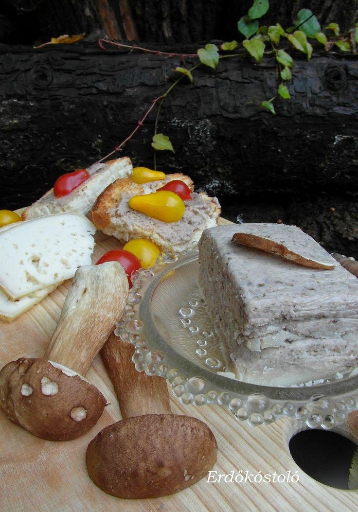 Erdőkóstoló: Vargányás vaj szendvicsre, pirítósra, fűszervajként sültekre, grillekre